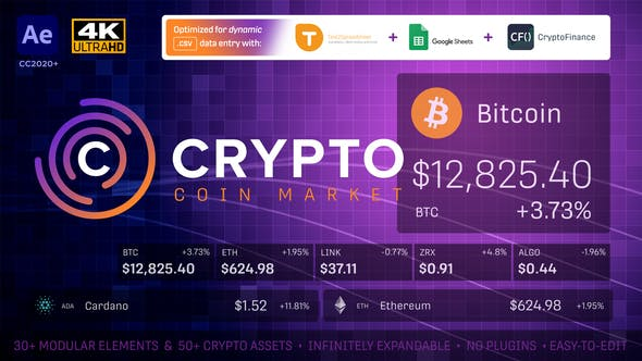 Crypto Currency Coin Market Kit | Bitcoin Tracker