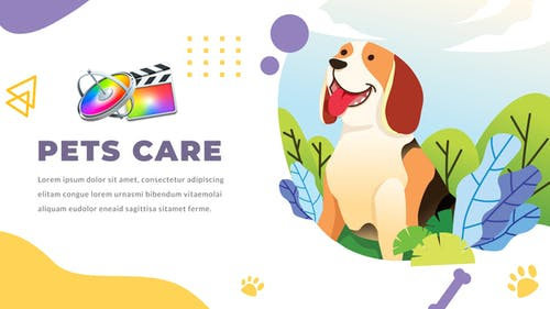 Pets Care and Veterinarian | Apple Motion & FCPX