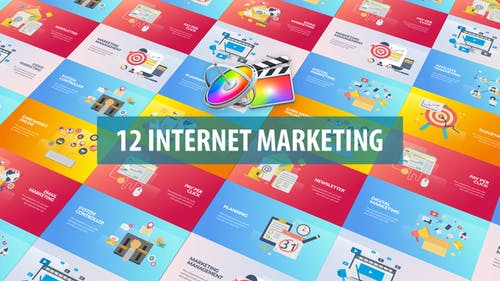 Internet Marketing Animation | Apple Motion & FCPX