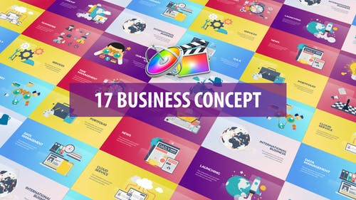 Business Concept Animation | Apple Motion & FCPX