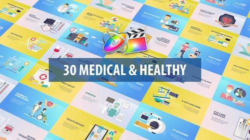 Медицинская и здоровая анимация | Apple Motion & FCPX