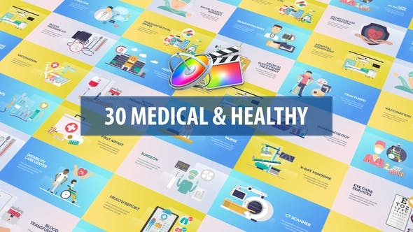 Thumbnail for Medical and Healthy Animation | Apple Motion & FCPX