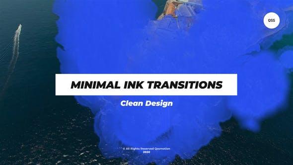 Transiciones de tinta mínimas