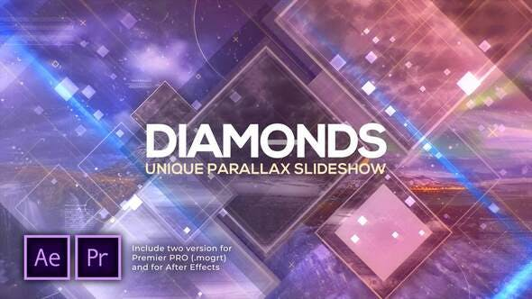 Thumbnail for Diamonds Unique Parallax Slideshow