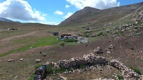 Poor Rural Life in Pakistan Mountains