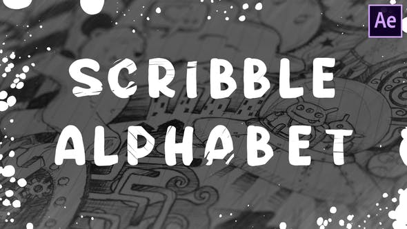 Thumbnail for Scribble Alphabet | After Effects
