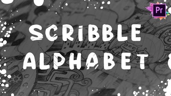 Thumbnail for Scribble Alphabet | Premiere Pro MOGRT