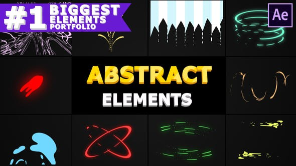 Thumbnail for Abstract Shapes | After Effects
