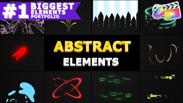 Thumbnail for Abstract Shapes   FCPX