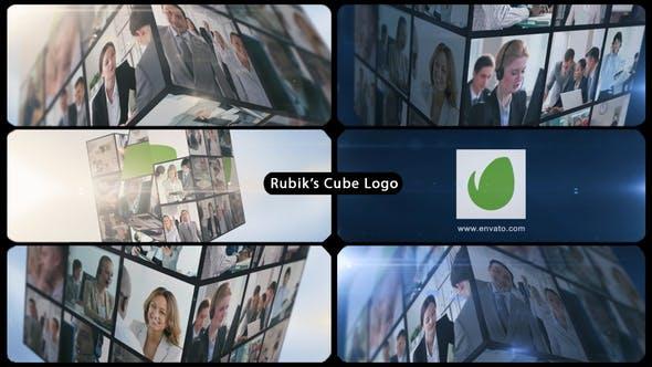 Rubik's Cube Multi Video Corporate Logo