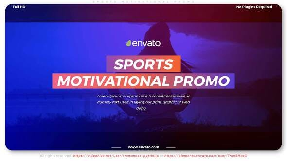 Thumbnail for Sports Motivational Promo