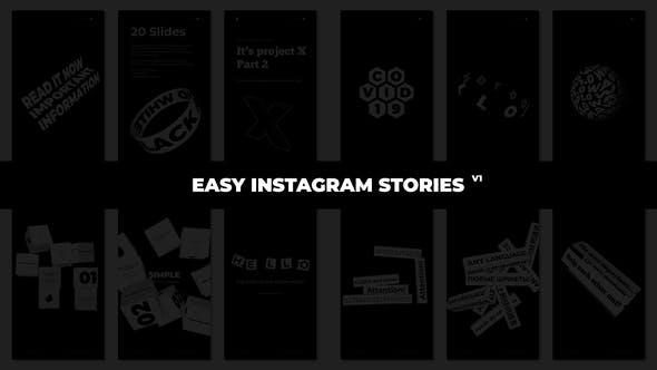 Thumbnail for Einfache Instagram-Geschichten für Premiere