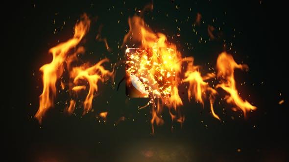 Thumbnail for Fire Logo Reveal