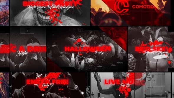 Thumbnail for Halloween Party Promo