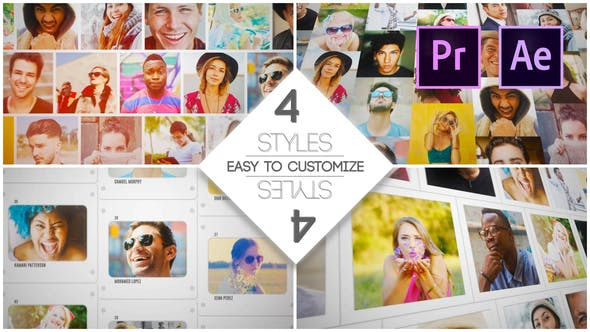 Thumbnail for Mosaic Slides Logo Opener