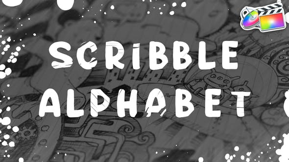 Thumbnail for Scribble Alphabet | FCPX