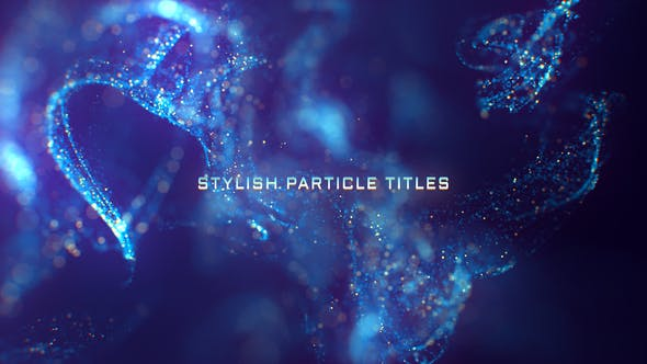Thumbnail for Stylish Particle Titles