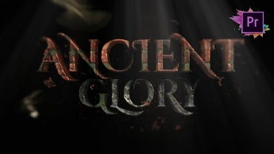Ancient Glory Rock Toolkit | Title Maker For Premiere Pro MOGRT