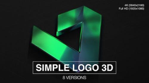 Simple Logo 3D Reveal (8-Pack)