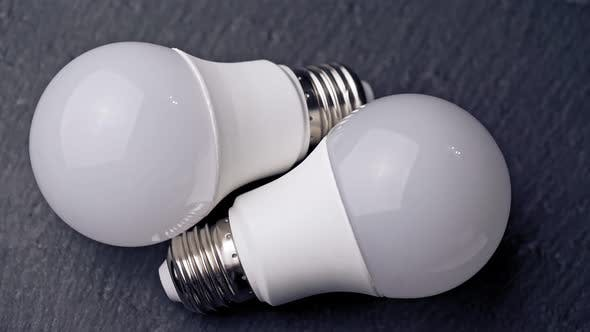 Cover Image for Light Bulbs on the Table