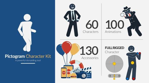 Pictogram Character Kit