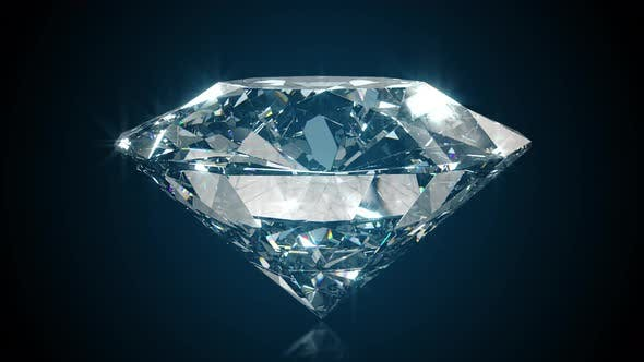 Thumbnail for Beautiful Large Crystal Clear Shining Round Cut Diamond
