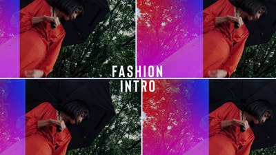 Fashion Gradient Intro