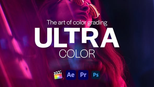 Thumbnail for Ultra Color | LUTs pack for Any Software
