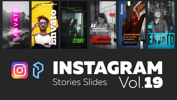 Thumbnail for Instagram Stories Diapositivas Vol. 19