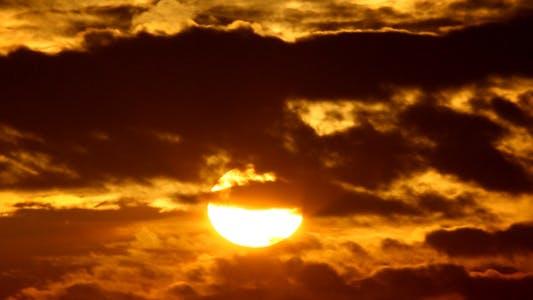Black Cloudy Sunrise