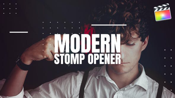 Thumbnail for Modern Stomp Opener - Final Cut Pro X & Apple Motion
