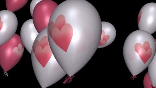 Thumbnail for Romantic Balloons - Pack of 3 Transitions