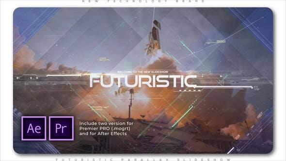 Thumbnail for Futuristic Parallax Slideshow