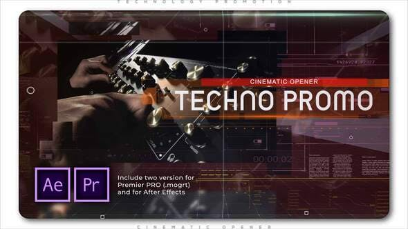 Thumbnail for Technology Cinematic Promo