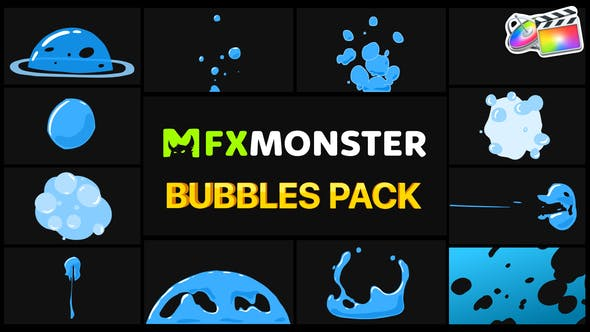 Thumbnail for Bubbles Pack | FCPX