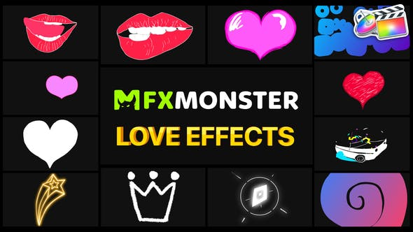 Thumbnail for Effets d'amour | FCPX