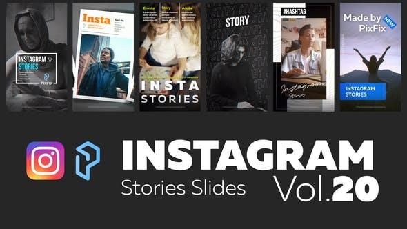 Thumbnail for Instagram Stories Slides Vol. 20