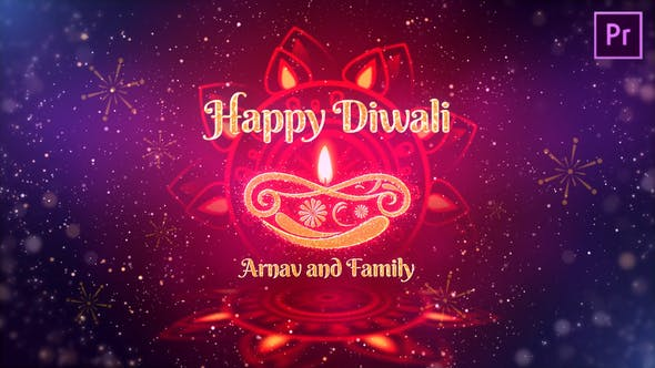 Thumbnail for Diwali Festival Wishes MOGRT