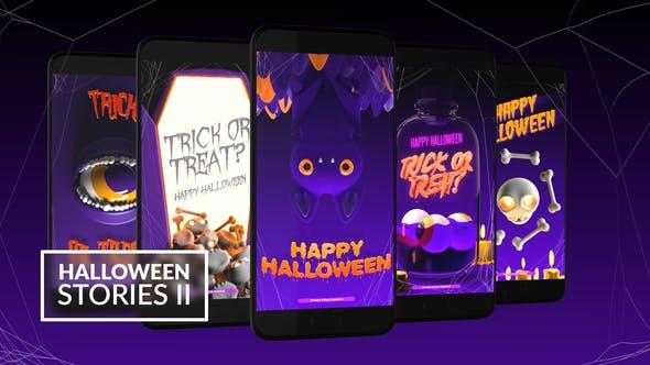 Thumbnail for Halloween Instagram Stories II