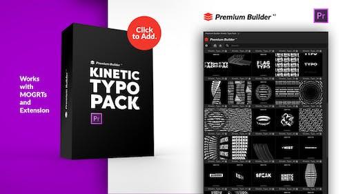 Kinetic Typo Pack