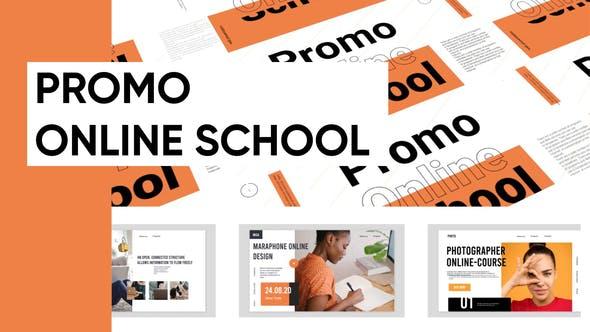 Promo Online School Presentation