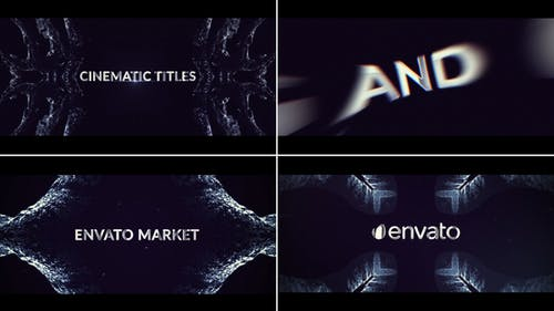 Abstract Trailer Titles