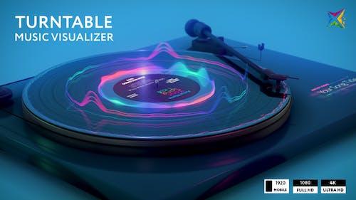 Turntable Music Visualizer