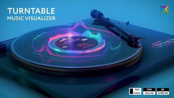 Thumbnail for Turntable Music Visualizer