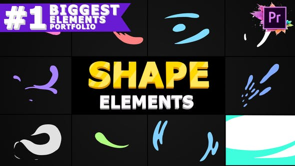 Thumbnail for Liquid Shapes | Premiere Pro MOGRT