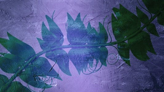 Thumbnail for Wall Art Collection - Green Vine - HD Loop
