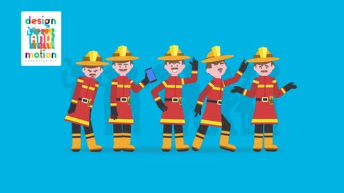 D&M Character Kit: Fireman