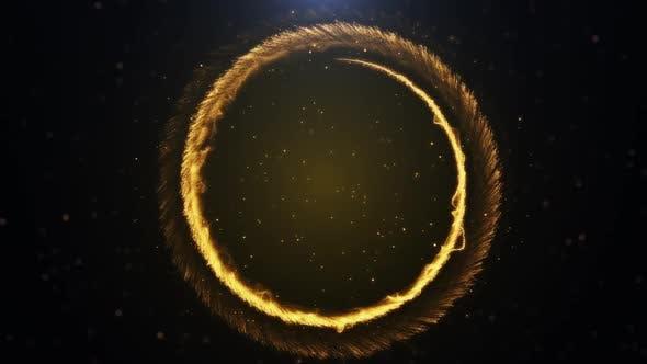 Particle Glow Background Loop