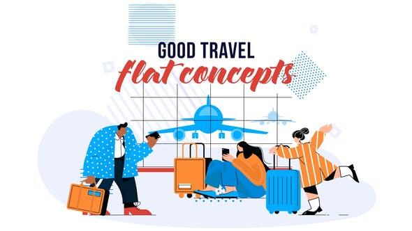 Buen viaje - Concepto plano