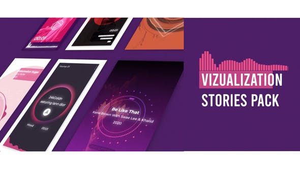 Visualizer Audio Stories Instagram